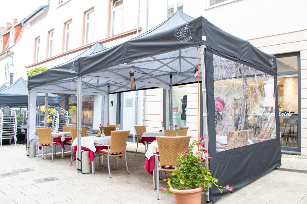 Zeltaktion Bad Nauheim Outdoor-Gastronomie