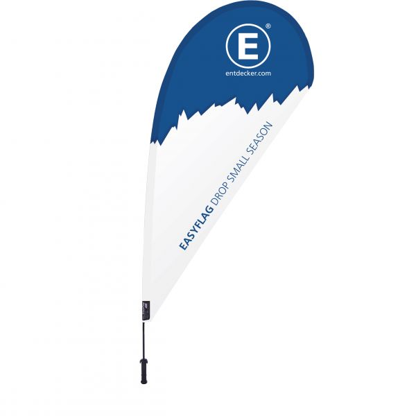 Beachflag Easyflag Drop Small SEASON einseitig