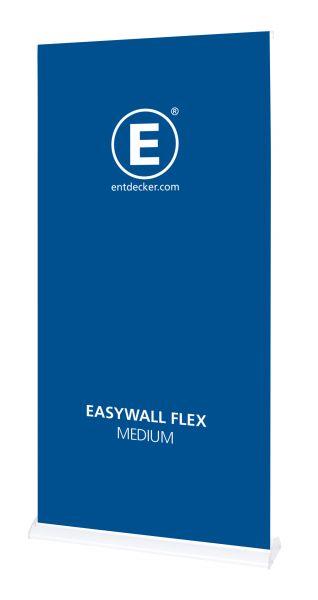 Easywall Flex Stoff Medium inkl. Druck einseitig