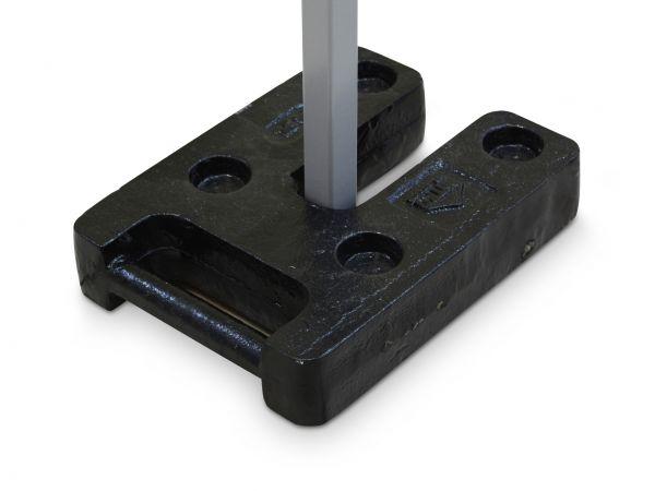Gewichte-Set: für Faltzelt 3x6m und 4x8m