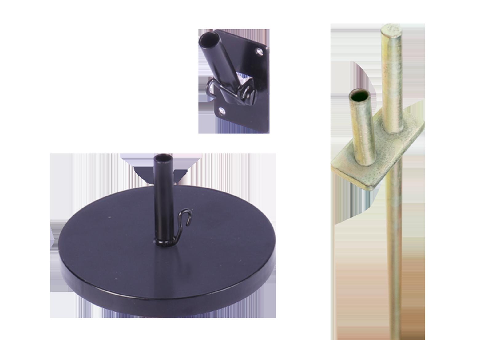Tischaufsteller Easyflag Mini Micro Fussvarianten