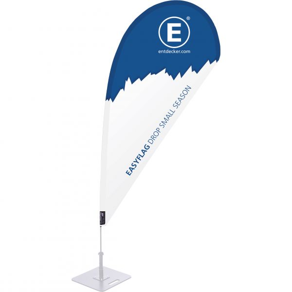 Beachflag Easyflag Stoff Drop Small SEASON