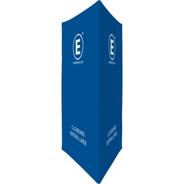 Clickboard Stoff Vertical Large