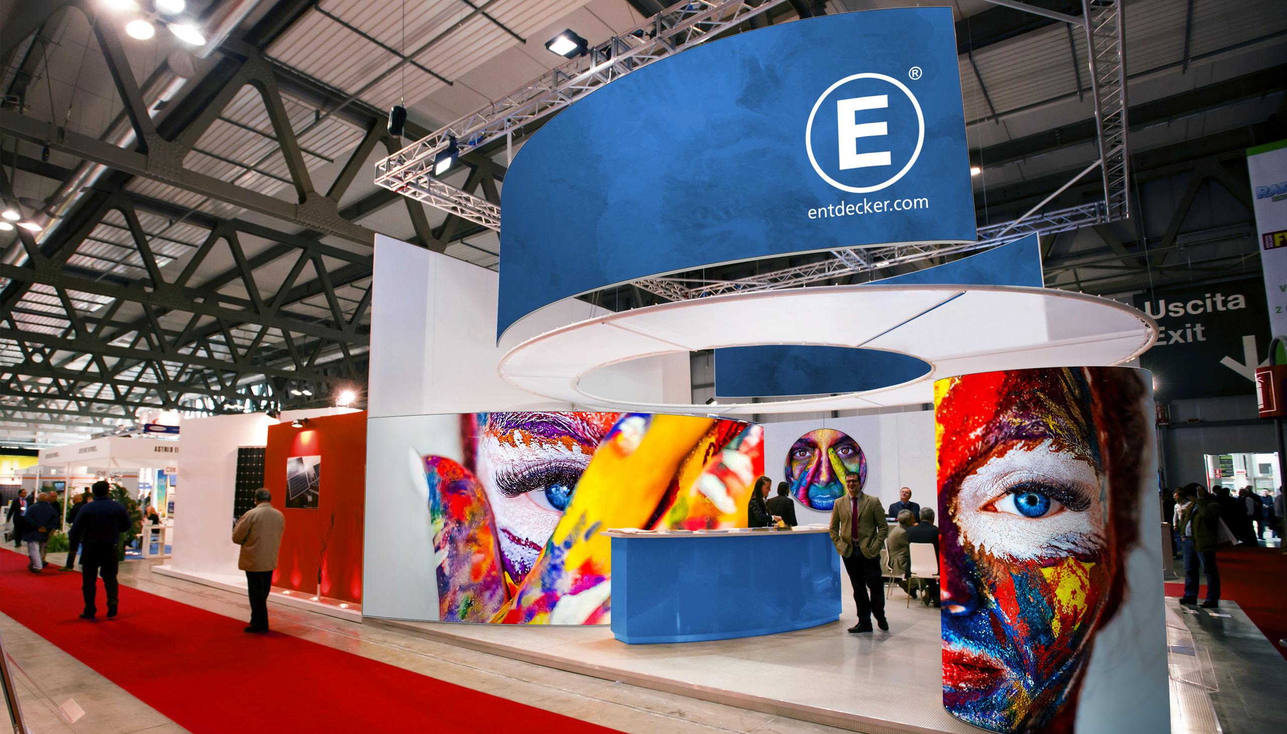 Textilspannrahmen Easyframe Portfolio Messe