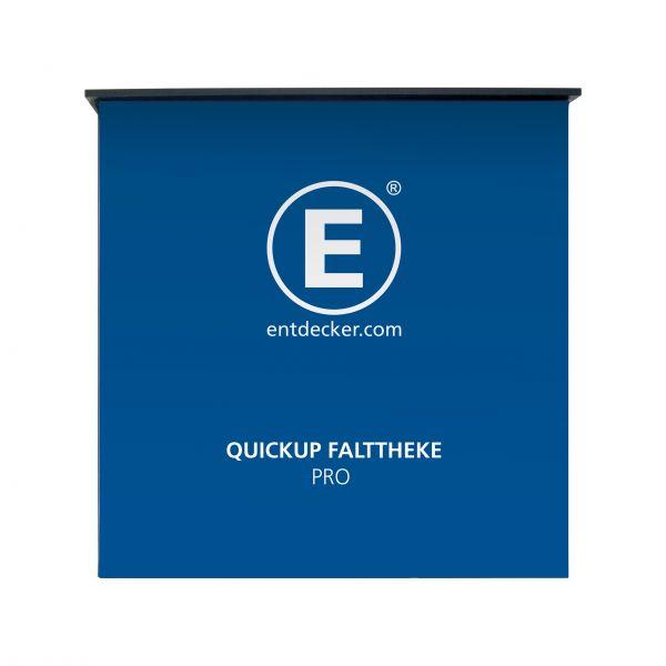 Quickup Falttheke Professional inkl. 3-teilige Bespannung mit Druck