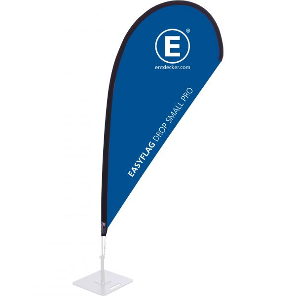Beachflag Easyflag Stoff Drop Small PRO einseitig