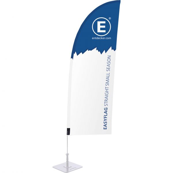 Beachflag Easyflag Stoff Straight Small SEASON