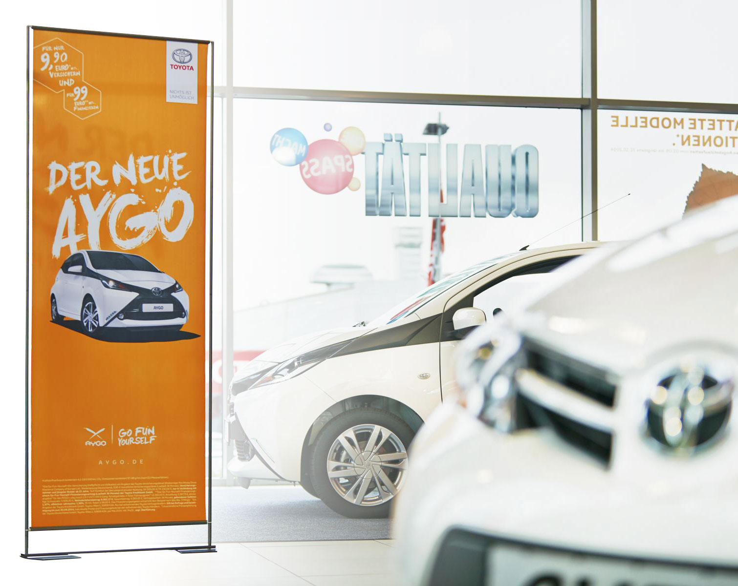 Easymag Stand Toyota