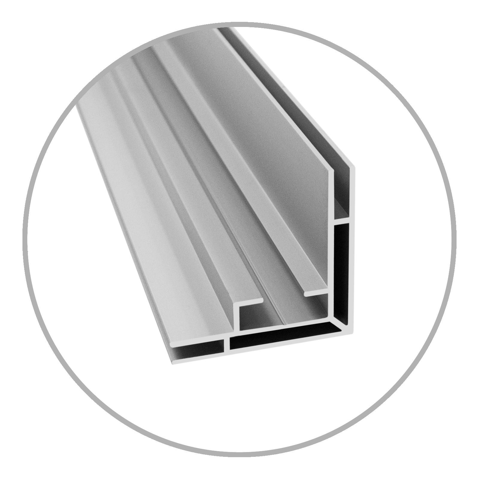 Easyframe Profil 50 Lighbox silber