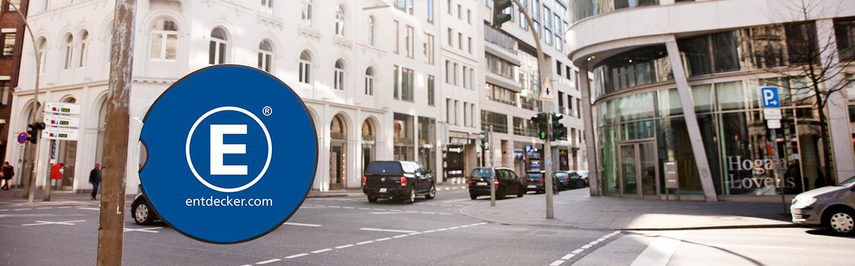 Werbebande Easydisc flex Stadt Seitenansicht