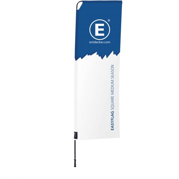 Beachflag Easyflag Set Square 80 Medium SEASON