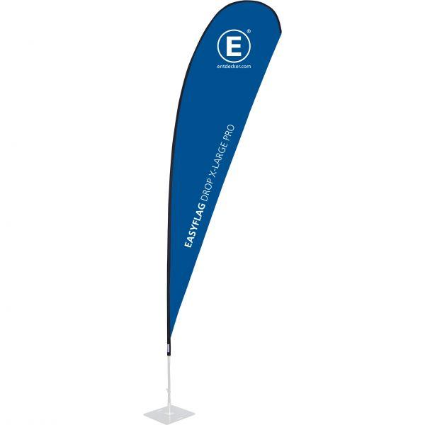 Beachflag Easyflag Stoff Drop X-Large PRO einseitig