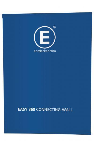 Stoff einseitig für Easy360 Connecting-Wall