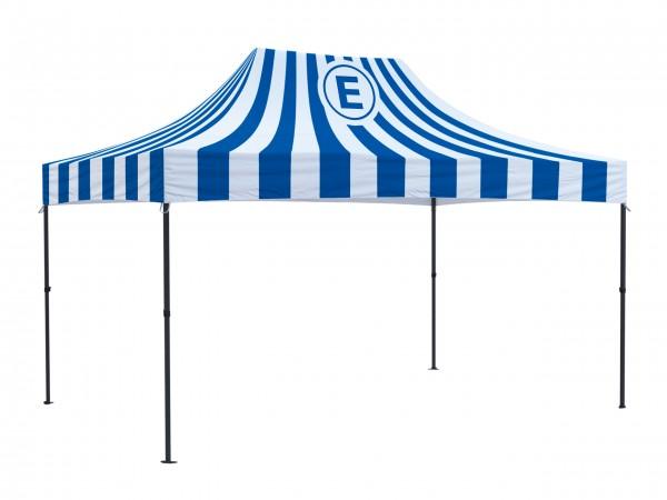 Faltzelt 3x4,5m Easydome ECO - Dach mit Volldruck