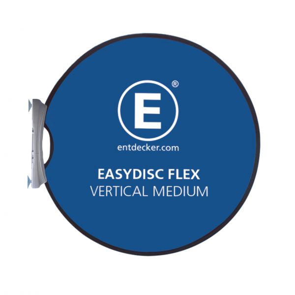 Easydisc Flex Set Vertical Medium Saugnäpfe doppelseitig