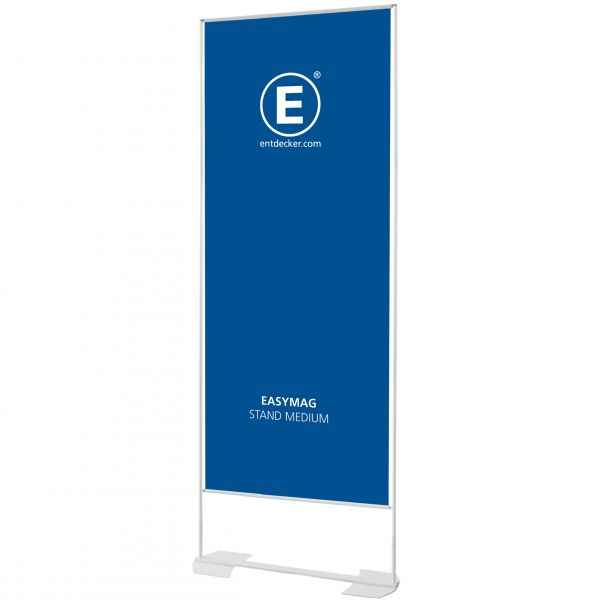 Easymag Stand 200 Medium mit Wing-Fuß inkl. Druck doppelseitig