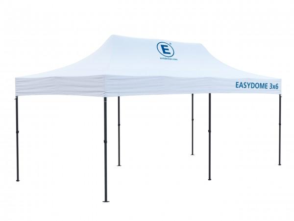 Faltzelt 3x6m Easydome ECO - Dach mit Teildruck
