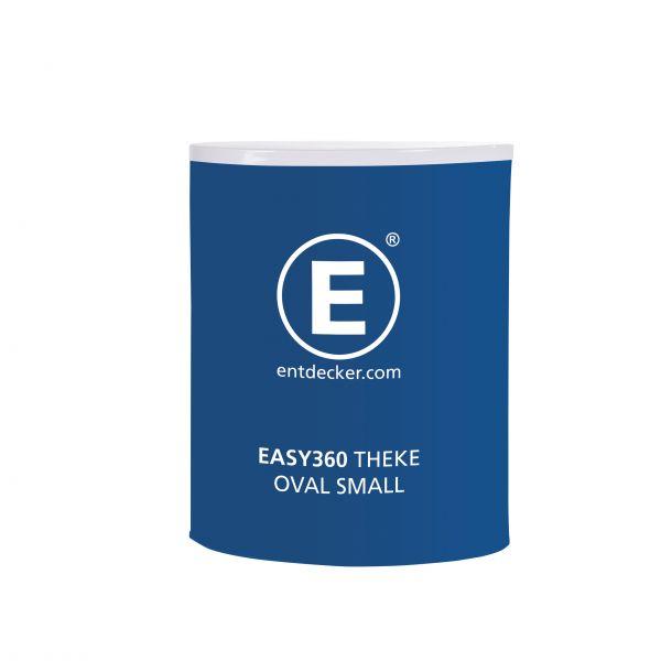 Easy360 Theke oval inkl. Transporttasche