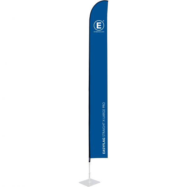Beachflag Easyflag Stoff Straight X-Large PRO einseitig