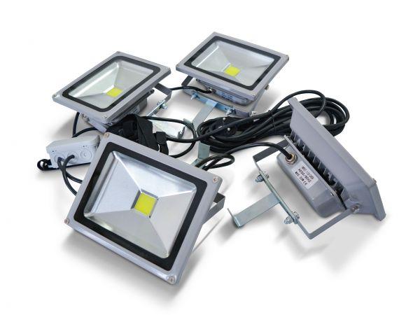 LED Beleuchtung - 4er Strahler