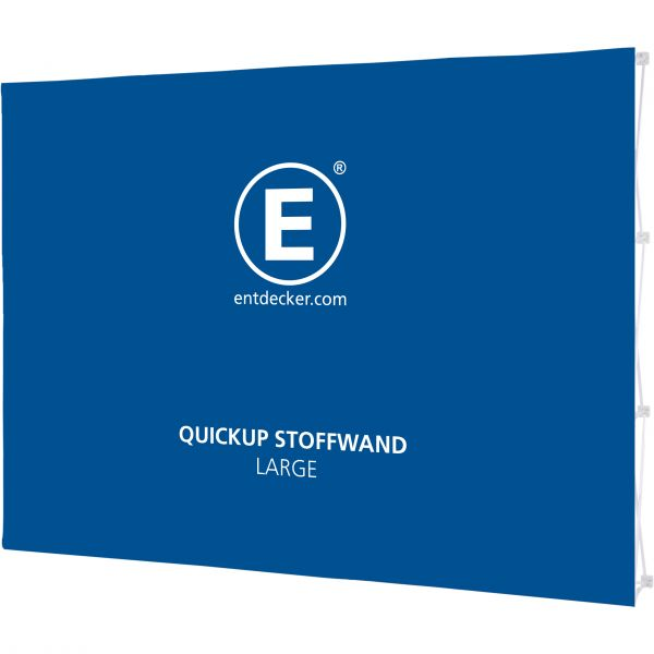 Quickup Stoffwand Stoff Large Front