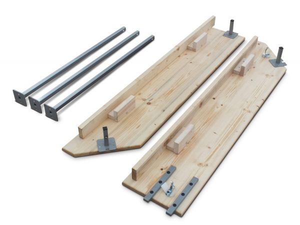 Holztheke für Faltzelt