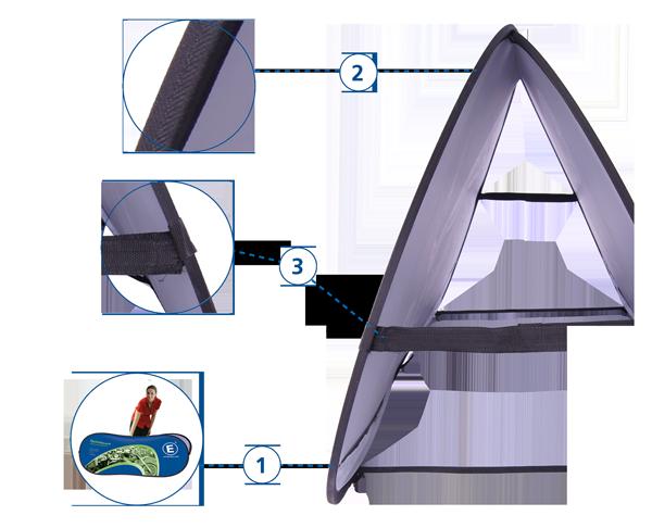 Werbebande Quickboard Detailansicht 1