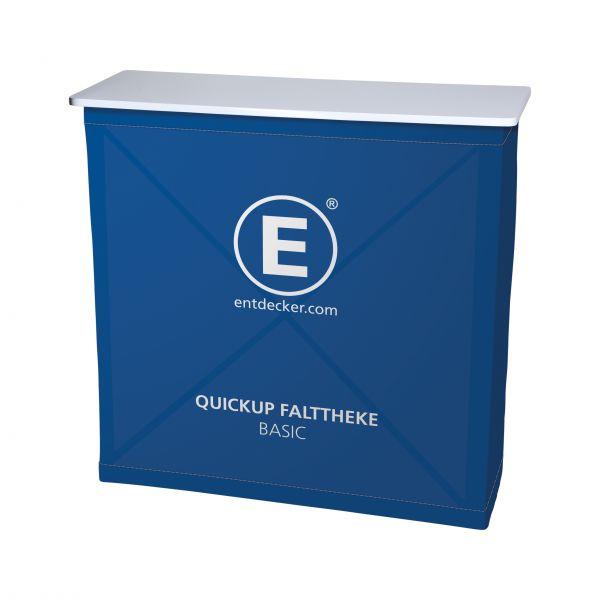 Quickup Falttheke Basic inkl. Stoff