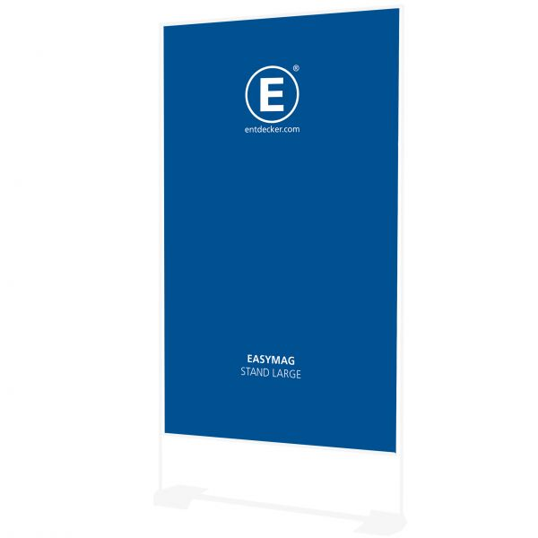 Easymag Stand 200 Banner Large inkl. Druck doppelseitig auf 400g Polyester