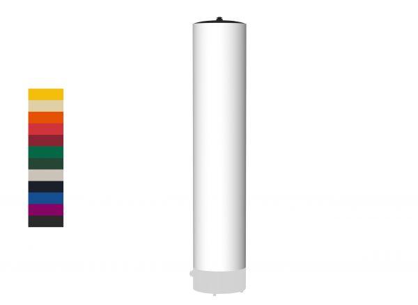 Vento Säule Stoff 4m in Farbe