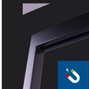 Tischaufsteller Easymag A5 Detail magnet
