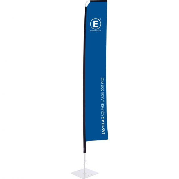 Beachflag Easyflag Stoff Square 55 Large PRO doppelseitig