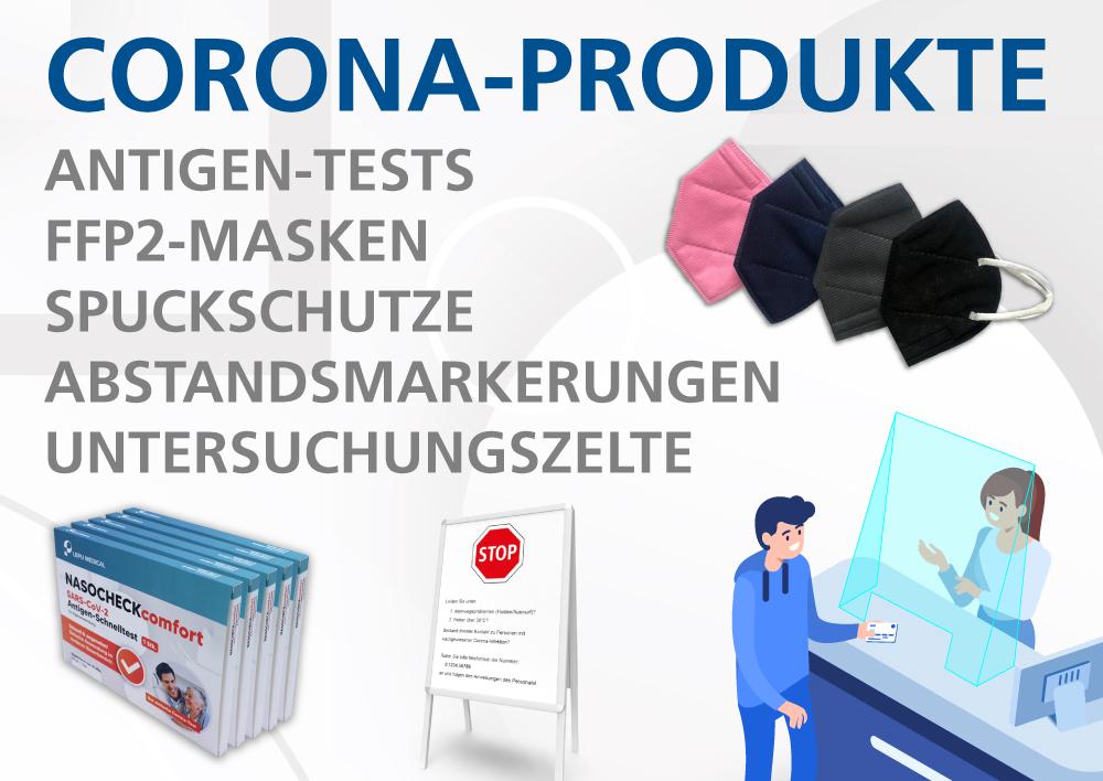 Entdecker Corona-Produkte