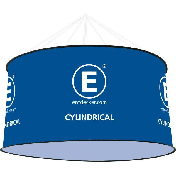 Cylindrical Medium einseitig bedruckt