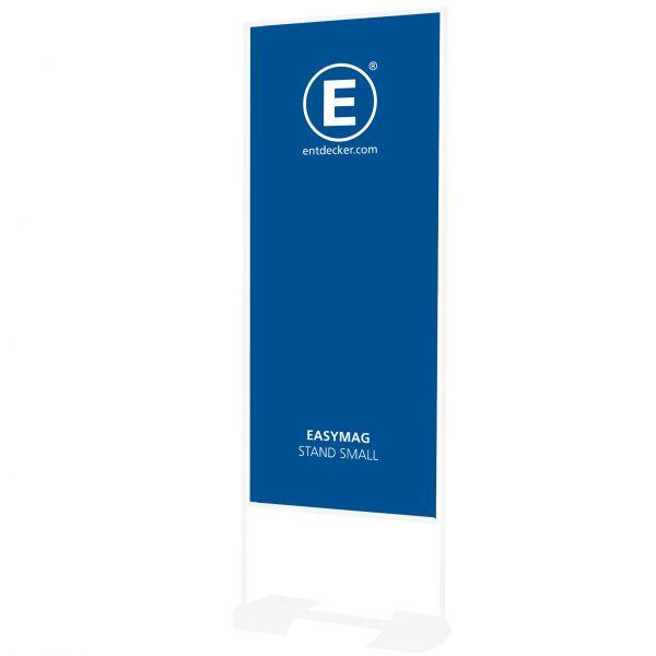 Easymag Stand 160 Banner Small inkl Druck einseitig auf 200g Polyester
