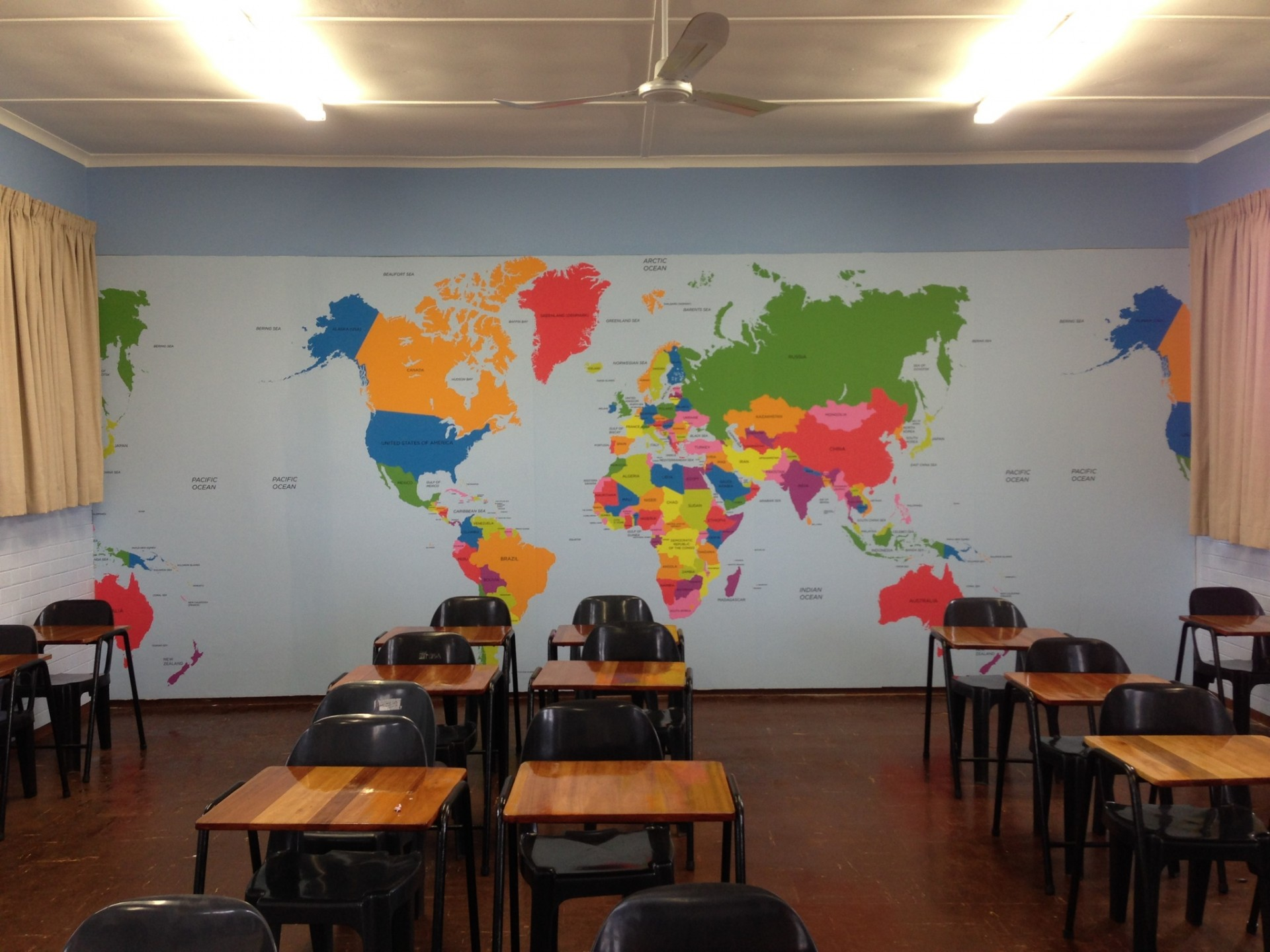 Fototapete Schule
