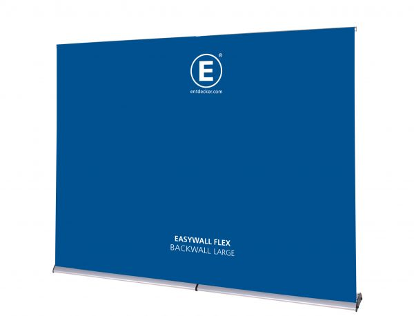 Easywall Flex Backwall Set Large inkl. Druck