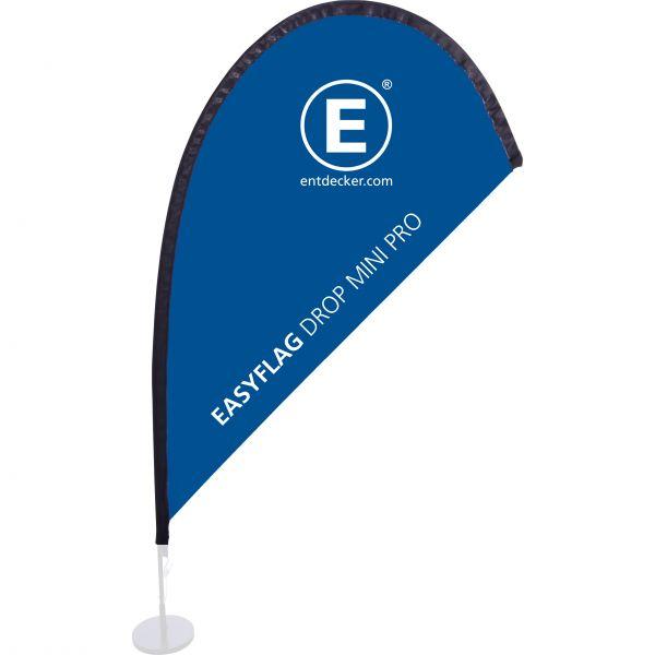 Beachflag Easyflag Stoff Drop Mini PRO doppelseitig