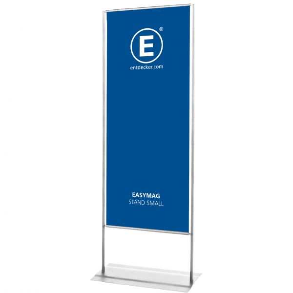 Easymag Stand 160 Small mit Classic-Fuß inkl. Druck doppelseitig