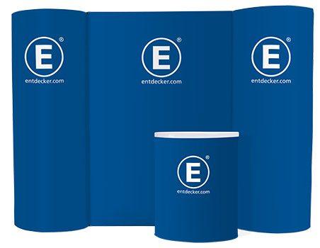 Easy360 Messewand, Messetheke, Werbesäule